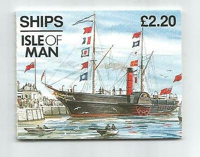 Isle Of Man 1993 £2.20 Ships Booklet Sb33