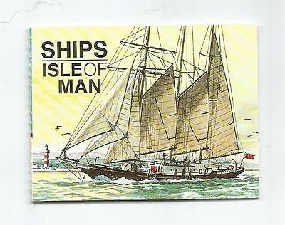 ISLE OF MAN 1996 96p SHIPS BOOKLET SB42