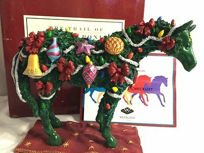 RETIRED! 2005 Trail of Painted Ponies Deck the Halls Christmas Tree Horse 1E MIB