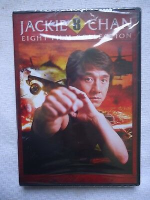Jackie Chan: Eight Film Collection (DVD, 2015, 2-Disc Set) BRAND NEW SEALED