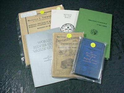 NobleSpirit NO RESERVE {3970} Vintage & Antique Coin & Currency Catalogs
