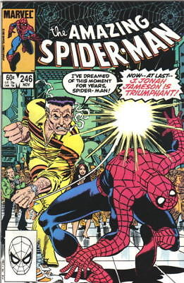the Amazing Spider-Man Comic Book #246 Marvel 1983 VERY FINE/NEAR MINT UNREAD