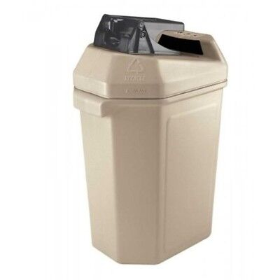 Commercial Zone 745102 Can Pactor Can Crusher and Waste Container Beige