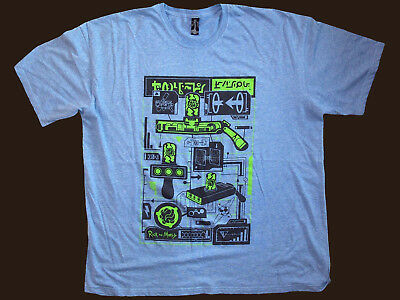 Rick & Morty, Robocop, Harry Potter, Walking Dead: 4 2XL T Shirts - nearly new!