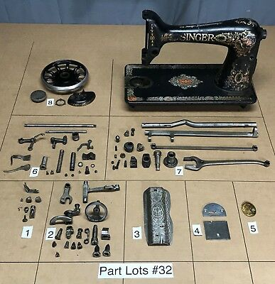 SINGER 40 REDEYE Sewing Machine Parts Lots Replacement Repair Best Where Can I Buy Singer Sewing Machine Parts