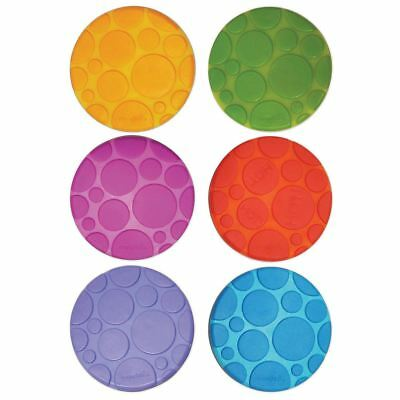 Munchkin 6 GRIPPY DOTS FOR BABY BATHS Baby/Toddler Bathing Safety Accessory BN