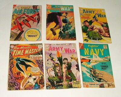 %  1950-60's War Comic Book Collection Lot Y-60