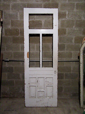 ~ UNUSUAL ANTIQUE VICTORIAN DOOR ~ 33.75 x 99 ~ ARCHITECTURAL SALVAGE ~