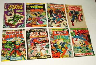 %  1970-80's Superhero  Comic Book Collection Lot Y-40