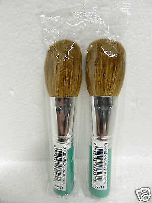 $2X Bare Minerals Escentuals Teal Flawless Application Foundation Face Brush New
