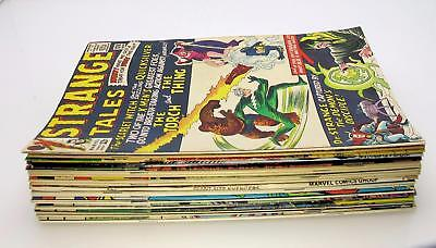 Marvel Silver Age & Bronze Age Lot of (22) Spider-Man, Avengers, Ms. Marvel
