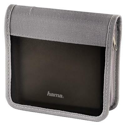 Hama 51315 - CD-/DVD-/Blu-ray-Wallet 28, Graphit/Silber