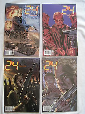 24 : Nightfall : Complete 5 Issue 2006 Colour Series. Keifer Sutherland. Idw