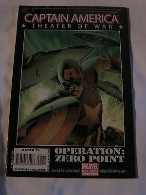 "CAPTAIN AMERICA : THEATER OF WAR ""Operation Zero""  BEAUTIFUL GIANT SIZE ONE-SHOT"