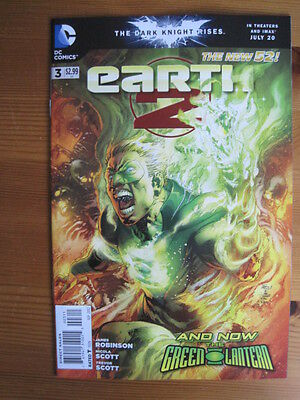 EARTH 2    #  3.  1st PRINT. By JAMES ROBINSON & SCOTT. THE NEW 52.    DC   2012