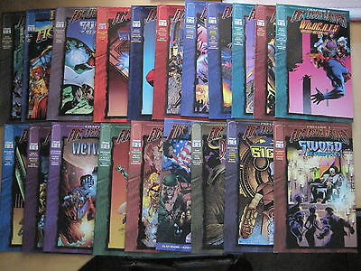 FIRE FROM HEAVEN : COMPLETE 20 ISSUE X-OVER STORY ARC,MOORE,ELLIS etc.IMAGE.1996