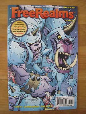Free Realms  10. Virtual World.  Based On The Video Game. Wildstorm. 2010