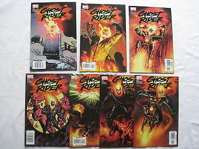 Ghost Rider #s 1,2,3,4,5,6,7 :2006 series by WAY, TEXEIRA, SALTARES. MARVEL.2006