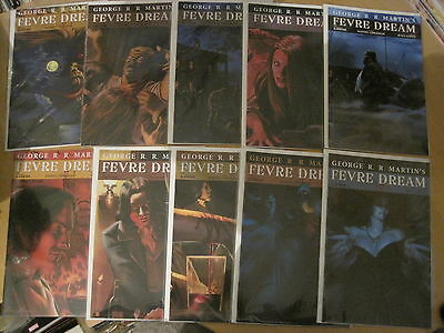 GEORGE R R MARTIN 's FEVRE DREAM: COMPLETE 10 ISSUE SERIES. THRONES. AVATAR.2010