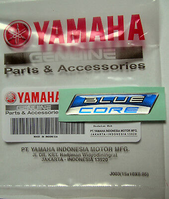 ORIGINAL Yamaha BLUE CORE EMBLEM-Aufkleber-STICKER-Emblème-Emblema-Decal-LOGO