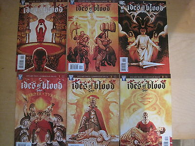 IDES of BLOOD : COMPLETE 6 ISSUE SERIES by PAUL & DUCE TV. WILDSTORM / DC. 2010