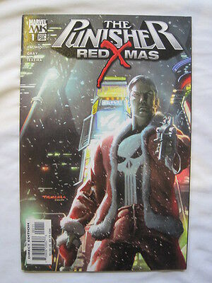PUNISHER : RED XMAS - A SEASONAL (!) ONE-SHOT by PALMIOTTI & GRAY.2005. MARVEL