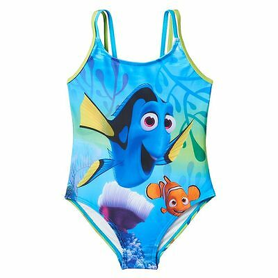 """Disney - Pixar """"FINDING DORY"""" GIRL'S ONE-PIECE SWIMSUIT SIZE 4 NWT"""