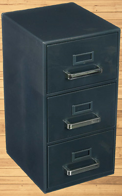 Forum Novelties 3-Drawer Mini Filing Cabinet for Home Office Decor Free Shipping