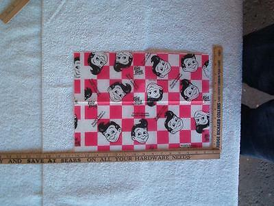 1 sheet Nos big boy wrapping paper style 1