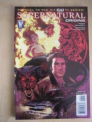 Supernatural : Origins # 5.  Prequel To The Cult Hit Cw Tv Series. 2007
