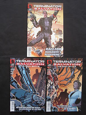 TERMINATOR SALVATION : The FINAL BATTLE :#s 1,2,3 by STRACZYNSKI & WOODS.DH.2013