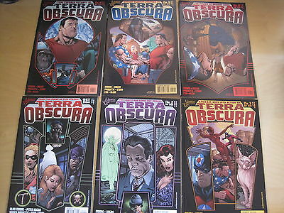TERRA OBSCURA : COMPLETE 6 ISSUE SERIES by ALAN  MOORE, PAQUETTE etc. ABC.2003
