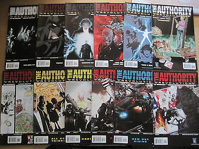 The AUTHORITY : REVOLUTION : COMPLETE 12 ISSUE SERIES by BRUBAKER.WILDSTORM.2005