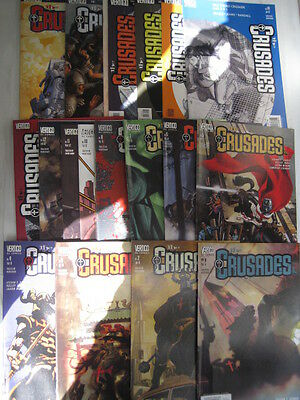 THE CRUSADES - COMPLETE SET of 20 by SEAGLE & KELLEY JONES. DC. VERTIGO. 2001