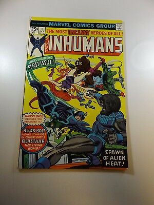 Inhumans #1 FN/VF condition Free shipping on orders over $100.00!