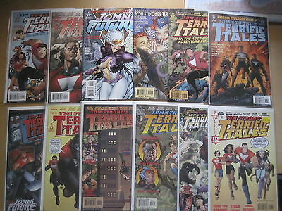 TOM STRONG's TERRIFIC TALES :COMPLETE 12 ISSUE SERIES by MOORE,ADAMS et.ABC.2002