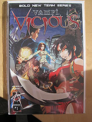 VAMPI  : VICIOUS  # 1 by McKEEVER & DOGAN. HARRIS.2004