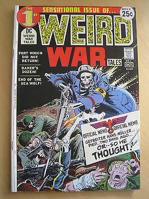 WEIRD WAR TALES : ISSUES 1,2,3,4,5 of 1971 DC SERIES by KUBERT, HEATH, TOTH etc