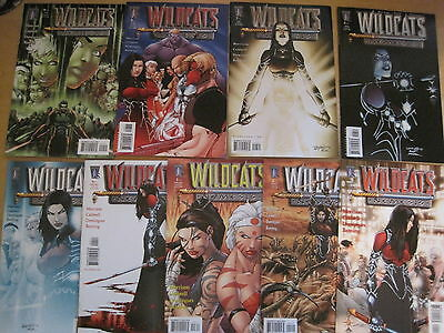 WILDCATS : NEMESIS : COMPLETE 9 ISSUE SERIES by MORRISON,CALDWELL.WILDSTORM.2006