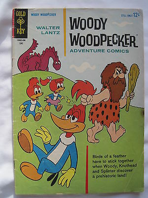WOODY WOODPECKER Adventure Comics #  80. GOLD KEY. FN-. 1964