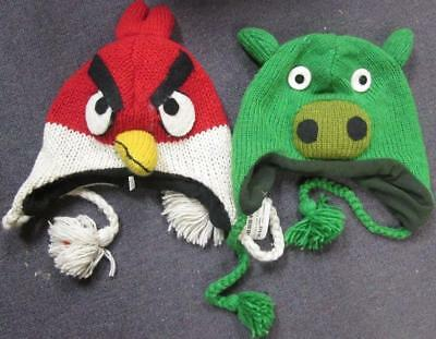 Lot of 2 Angry Bird Beanies *NEW*