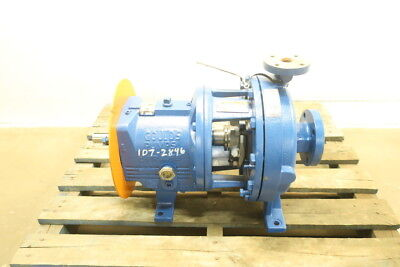 Goulds 3196 Iron 1x2-10 Centrifugal Pump 78gpm