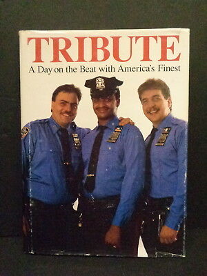"""tribute"" Police Book, American Police Departments, Color, 1989, Nypd, Pre-9-11"