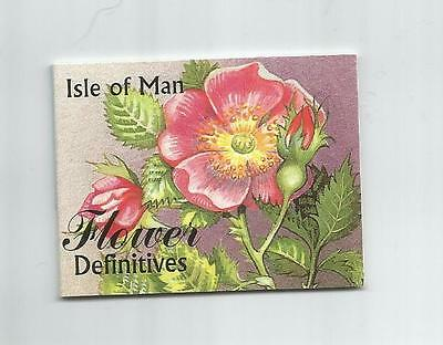 Isle Of Man 1999 £1.00 Flowers Booklet Sb51