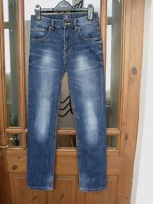 Gap Skinny Fit Stonewashed Antiqued Jeans Zip & Button Fly Size 12 Years