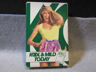1 Deck Kool Cigarettes Playing Cards Open Never Played With