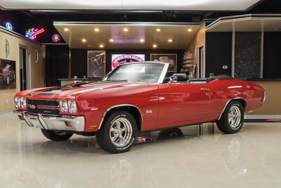 1970 Chevrolet Chevelle Convertible Frame Off, Rotisserie Restored! GM 350ci V8, TH350 Automatic, PS, PB, Disc, Posi