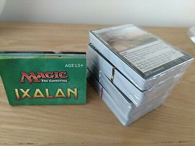 Magic The Gathering (MTG)  4 x Sealed Deck Builders Packs * Ixalan