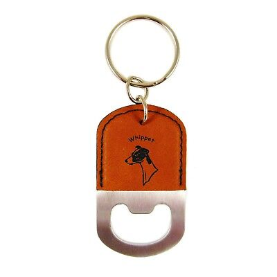 Whippet Head #2 Bottle Opener Key Chain K4227  FREE SHIPPING