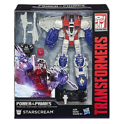 Transformers Power of the Primes Voyager Starscream Action Figure
